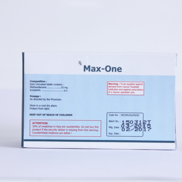 Max-One (methandienone oral)