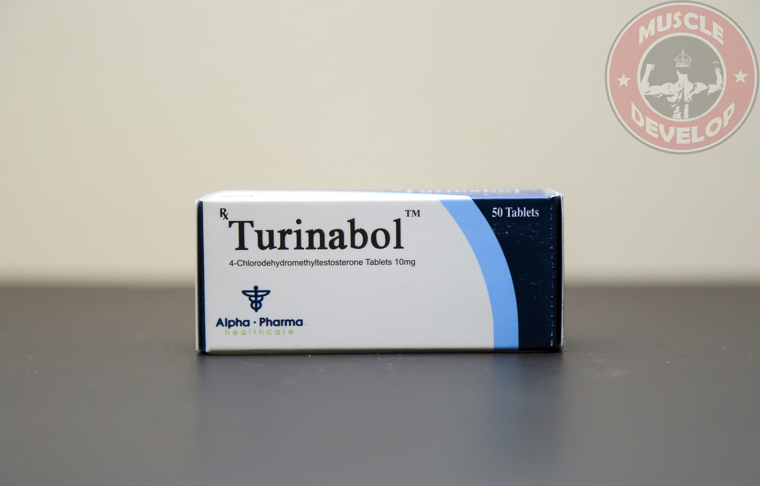 Turinabol 10 (chlorodehydromethyltestosterone)